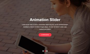 Slider Image Animation