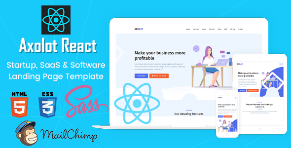 Top 6 ReactJS Templates To Start Your Next Awesome Website Project