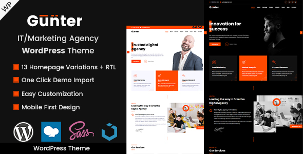 Top 4 WordPress Themes To Start Your Next Awesome Website Project