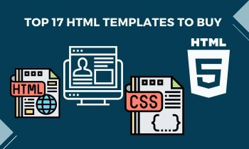 Top 17 html templates to buy