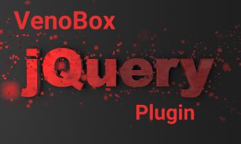 venobox jquery plugin